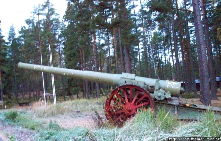 Линия обороны Harpaskog. Ханко.
