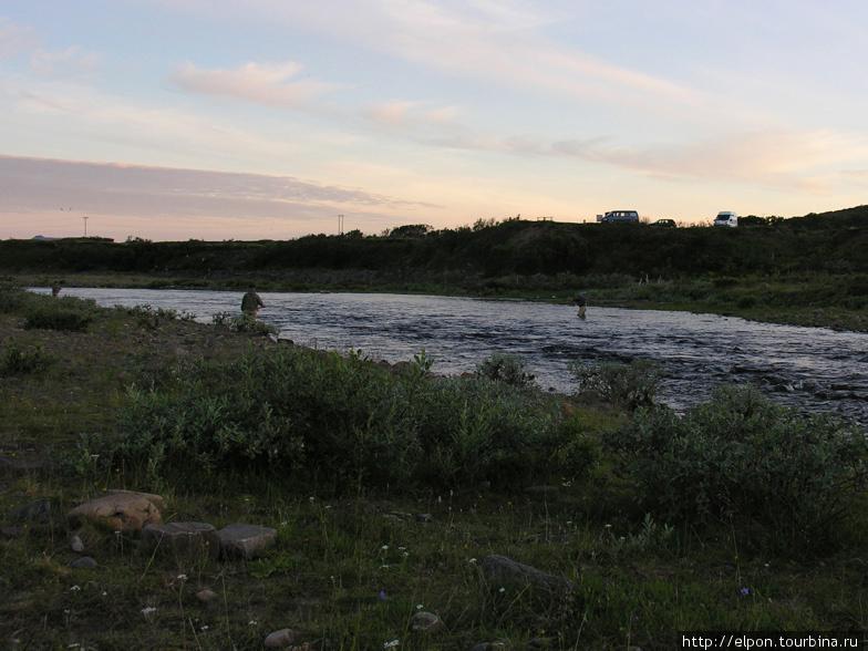 Рыбалка на реке Jakobselva