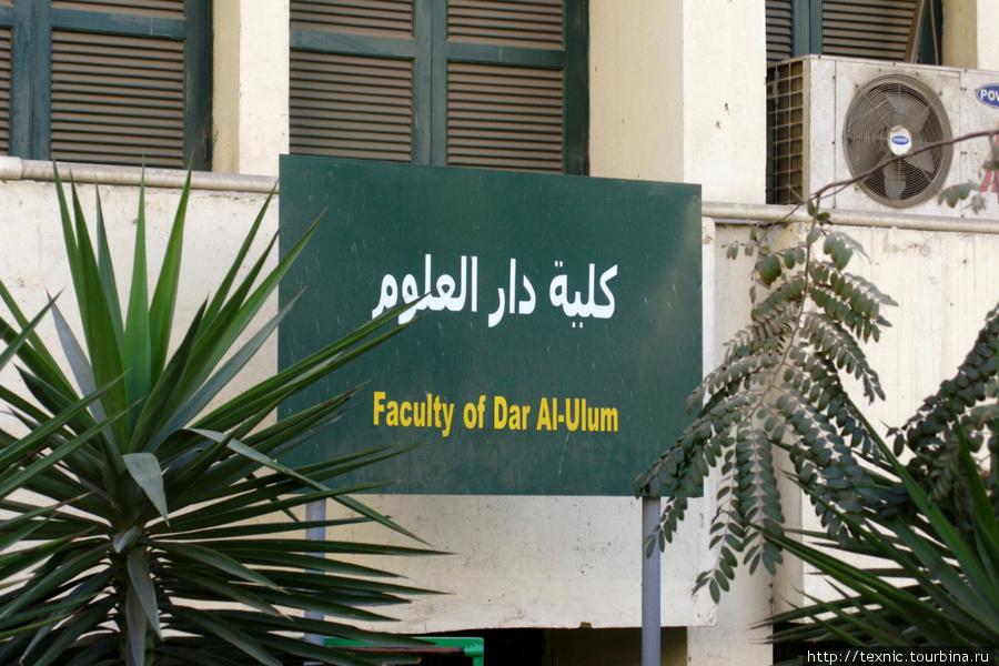 Мало кто был на территории Каирского университета, а я был. Туда удобно заехать на обратном пути от пирамид