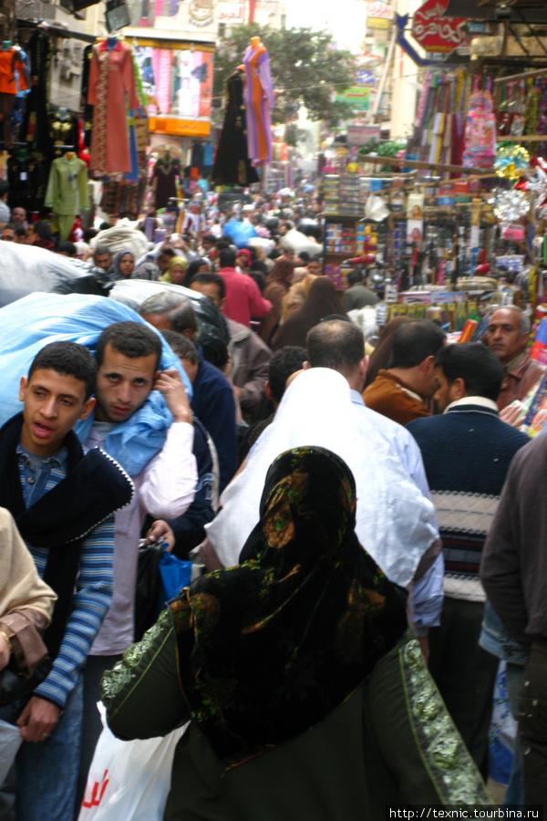 Islamic Cairo, торговая улица
