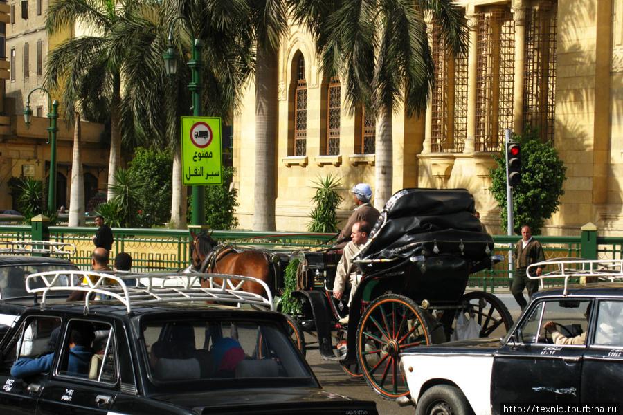 Для туристов есть и такой транспорт, можно почувствовать себя английским джентльменом