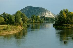 Юрактау и река Белая.