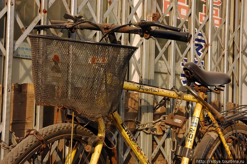 Очень ценный велосипед