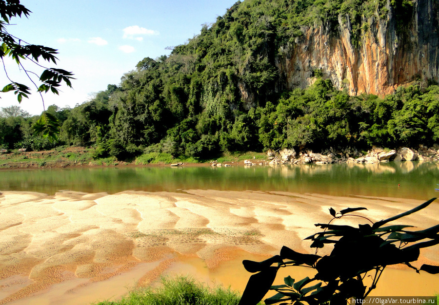 На реке Nam Ou