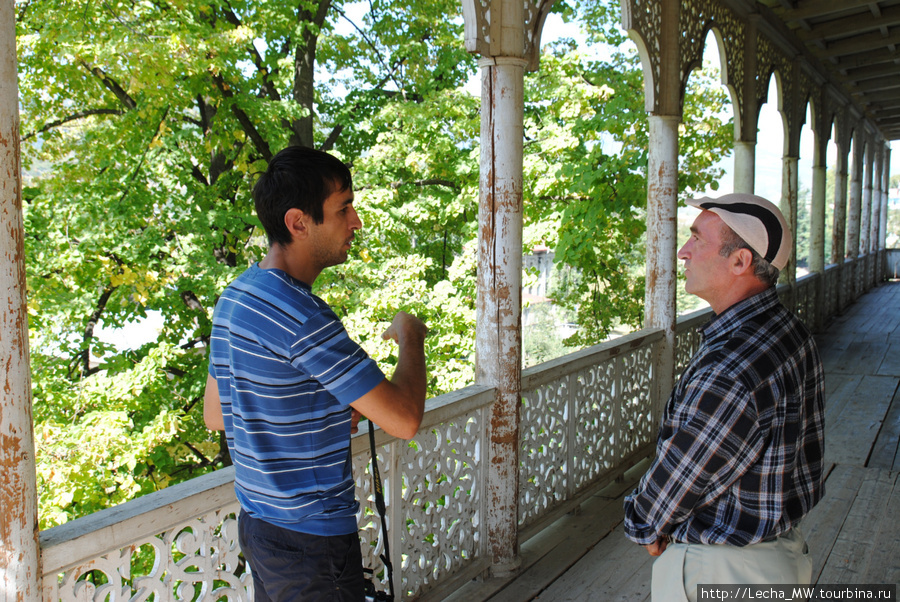 Диалог народов( осетин и грузин)