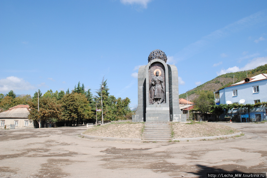 Центральная площадь Ленингора