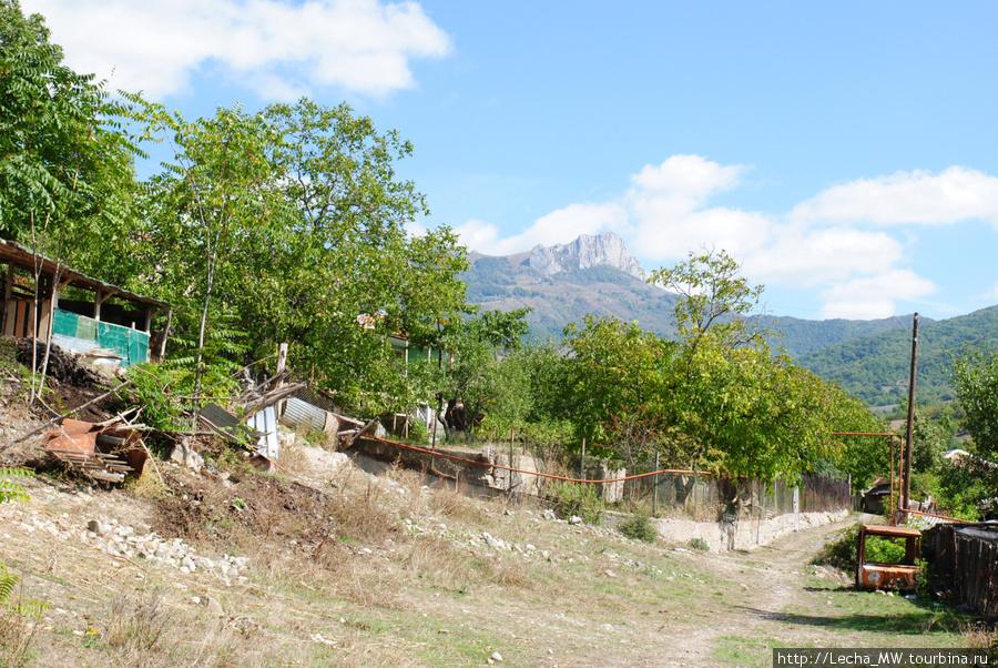 Вид на поселок Икот