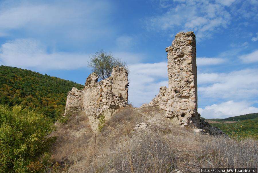 Крепость около монастыря Икорта ( фото Валерия Плиева)