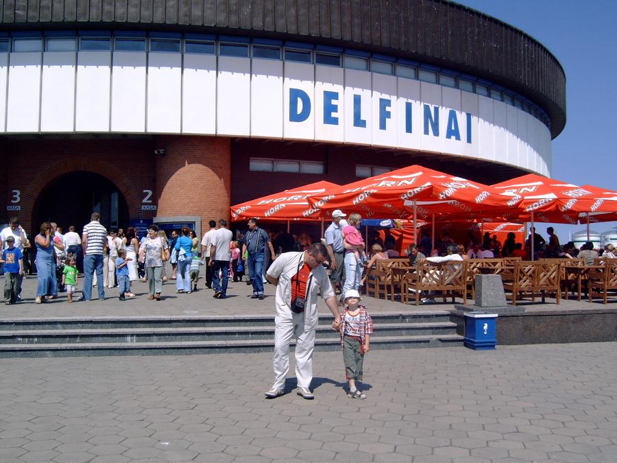 Дельфинарий Клайпедский единстверрный во все йнашей приьалтике.