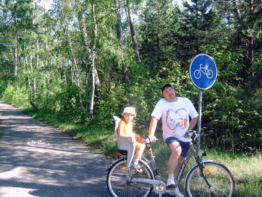 Велосипеды в Ниде на любой вкус. Бери и катайся по дюнам и лесам.