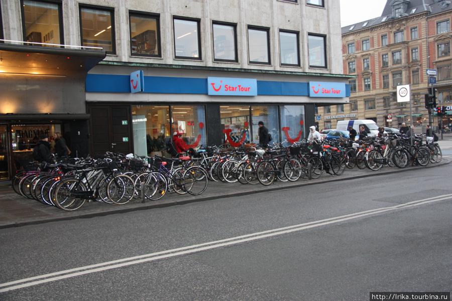 Копенгаген — город велосипедистов