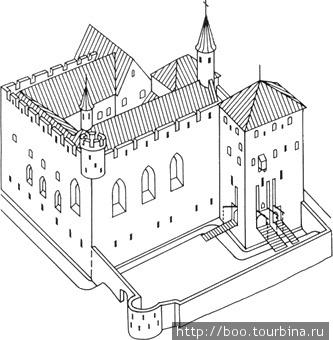 таким был монастырь Падизе во времена своего расцвета
