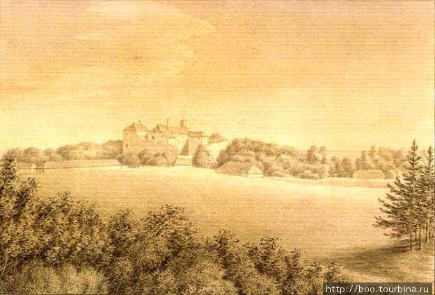 К. Унгерн -Штернберг, акварель, 1827