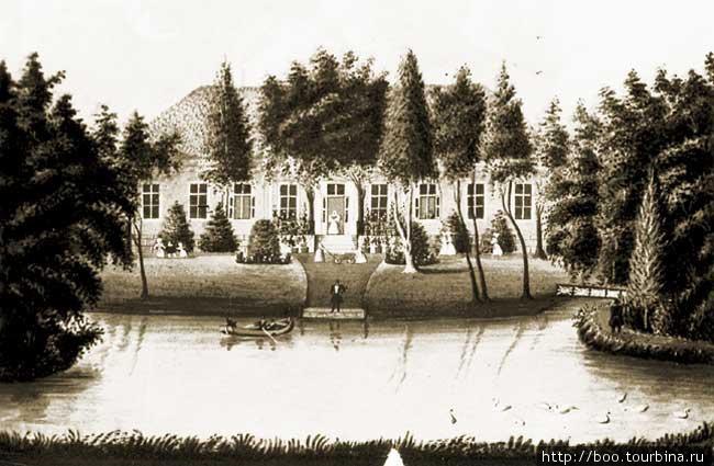 акварель, 1831, репродукция