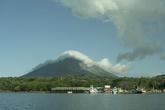 Вулкан Concepcion — главный и действующий