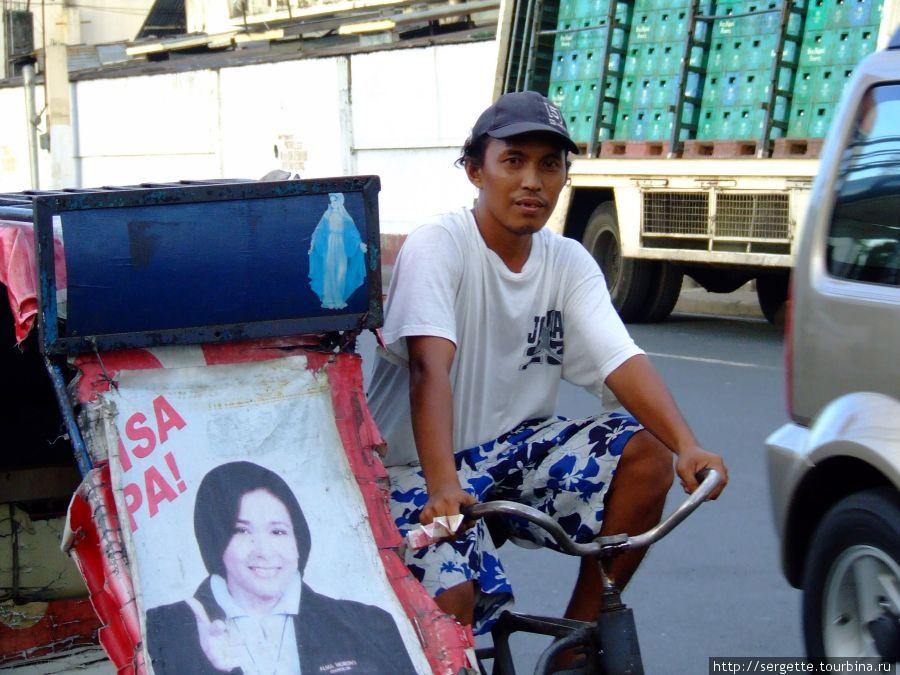 Вело таксист