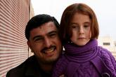 Ахмед пригласил нас в свой дом, когда мы пешком пересекали Саракеб (на пути из Халеба в Латакью).