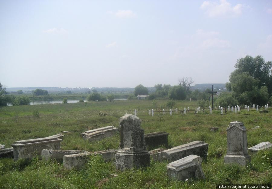 Захоронения в Новом селе