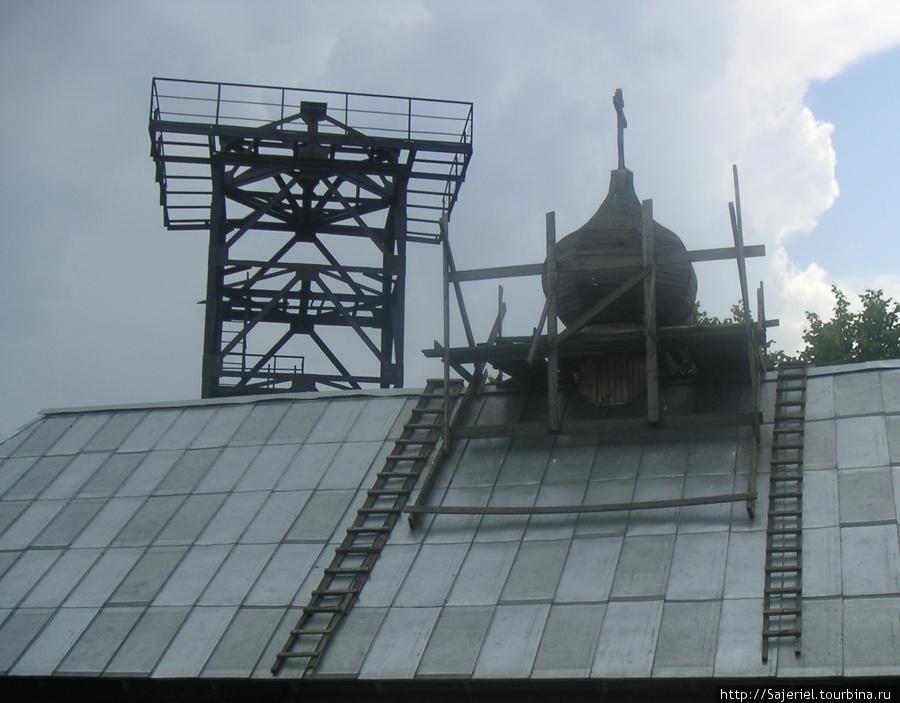 Вышка и храм