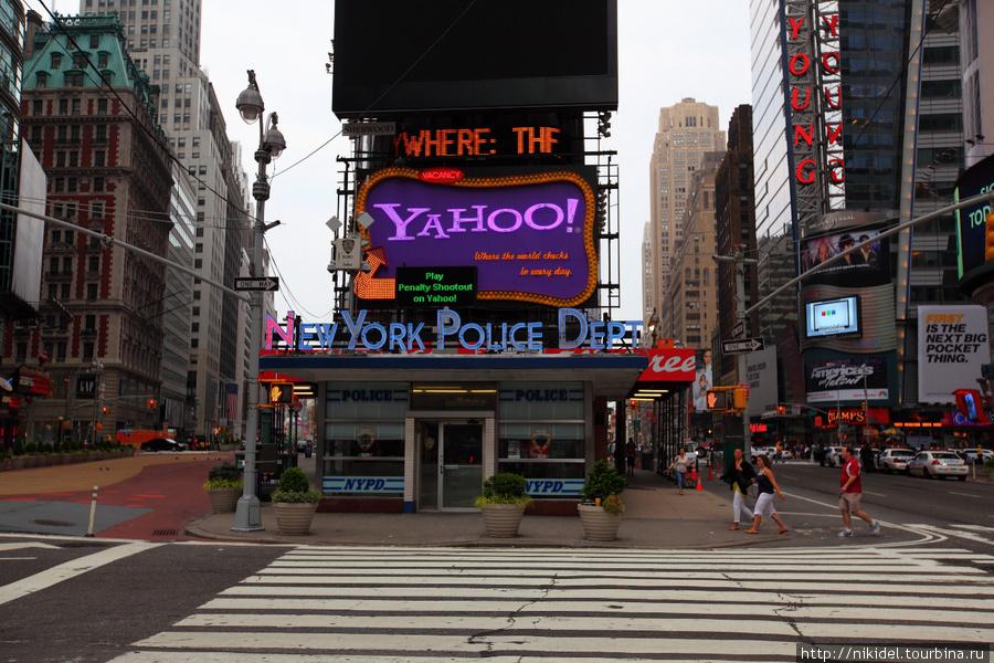 полицейский участок на Times Square