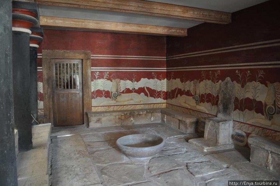 Кносский дворец.