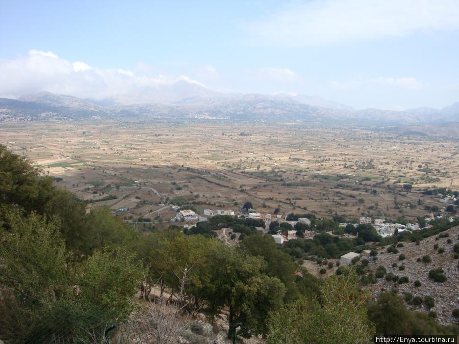 Деревня Психро.