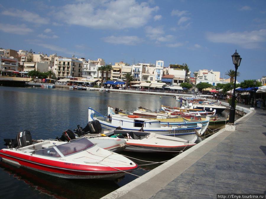 Агиос-Николаос, озеро Вулизмени.
