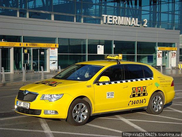 Правильное пражское такси.