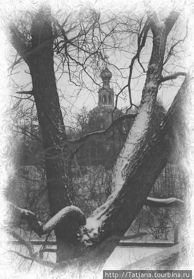 Вид с Серебренного бора, 90-годы