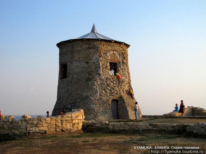 Башня — символ Елабуги.