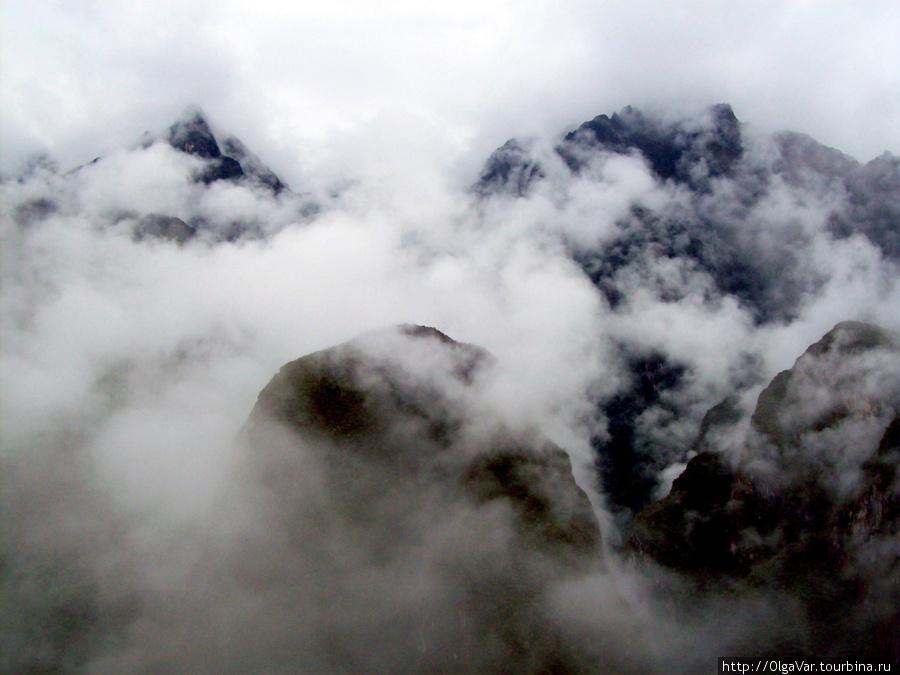 На пути к Мачу-Пикчу