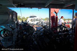 На Rottnest основным транспортом являются велосипеды, весь остров реально объехать на велосипеде за один день.