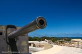 Для защиты подходов к порту Fremantle на острове были размещены два 6-дюймовых орудия.