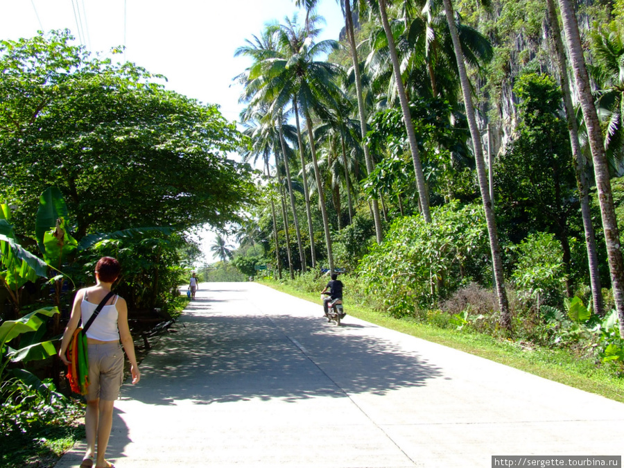 Дорога в Коронг Коронг