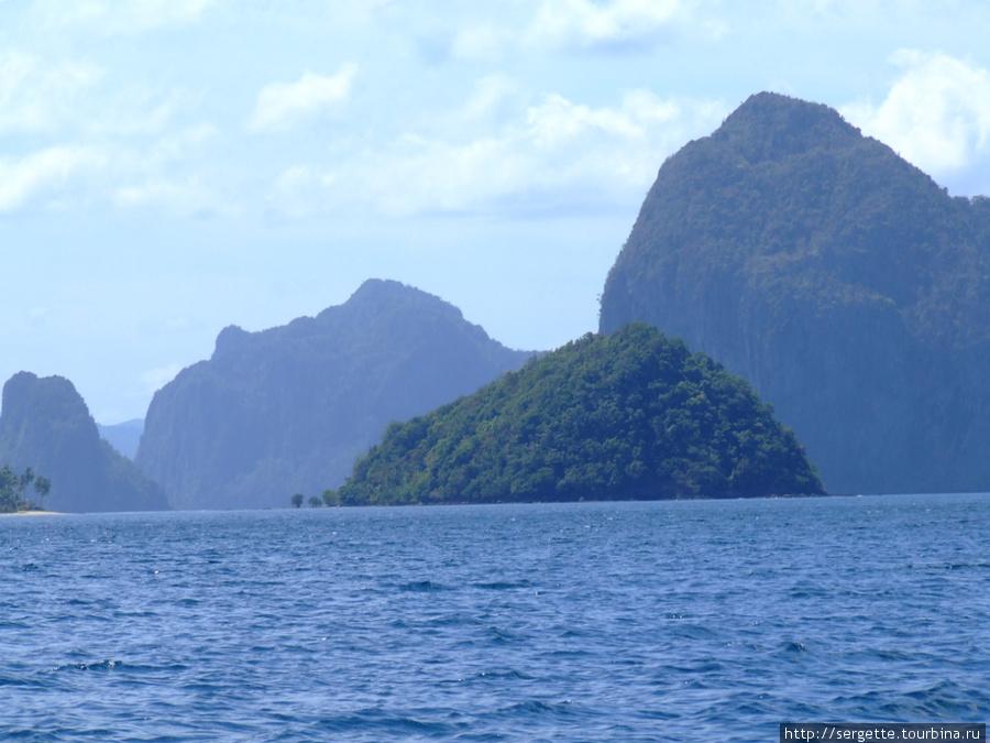 Острова бухты Бакит