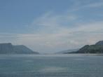 Пейзаж озера Тоба