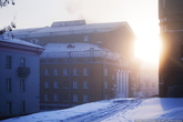 Холодный огонь зимнего солнца.