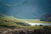 Маленькая горная долина как нельзя лучше подошла для дневки. Народ всячески расслаблялся и отдыхал.