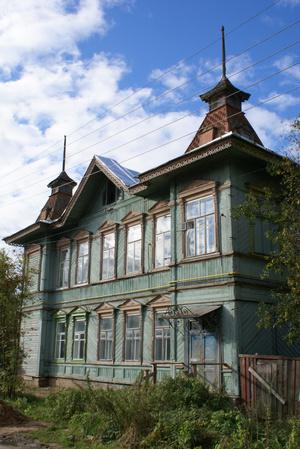 Старый купеческий особняк в Бежецке