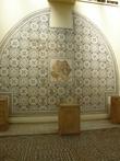 Мозайка в местном музее.
