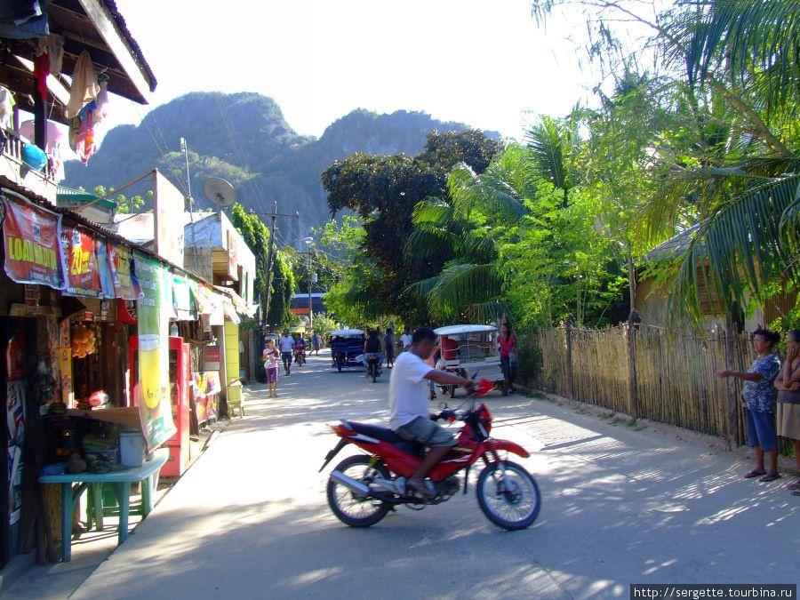 Улицы Эль Нидо