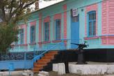 Штаб Таманского казачьего общества в Тамани