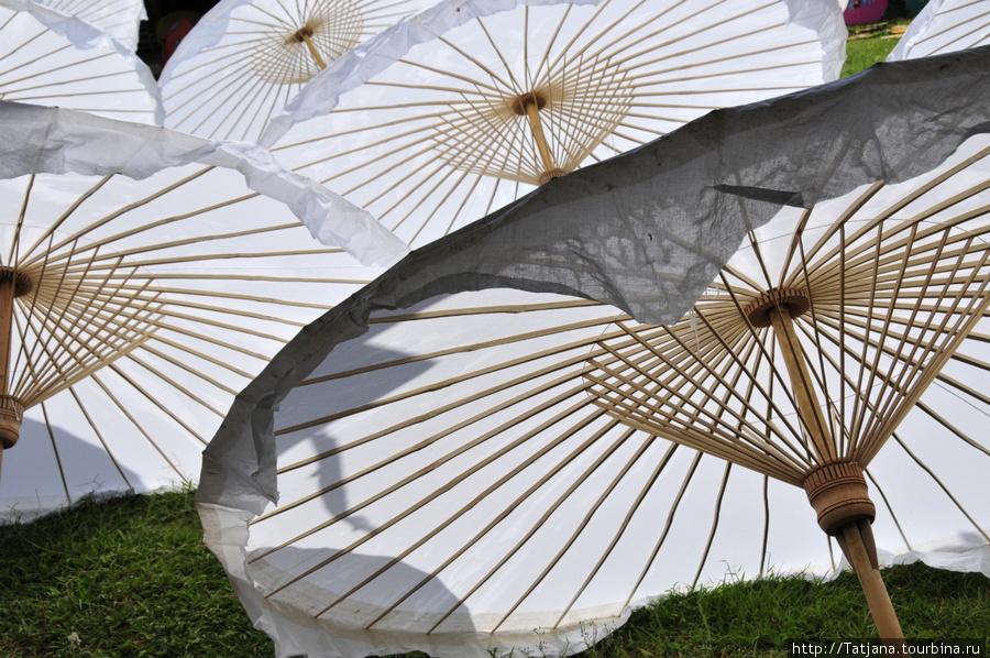 солнце и зонтики