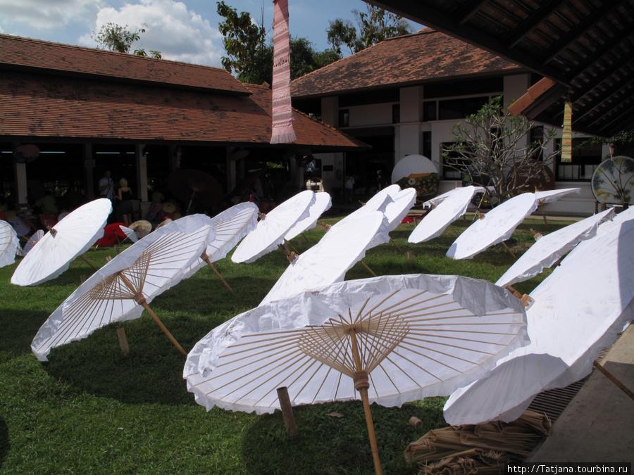 парад зонтов