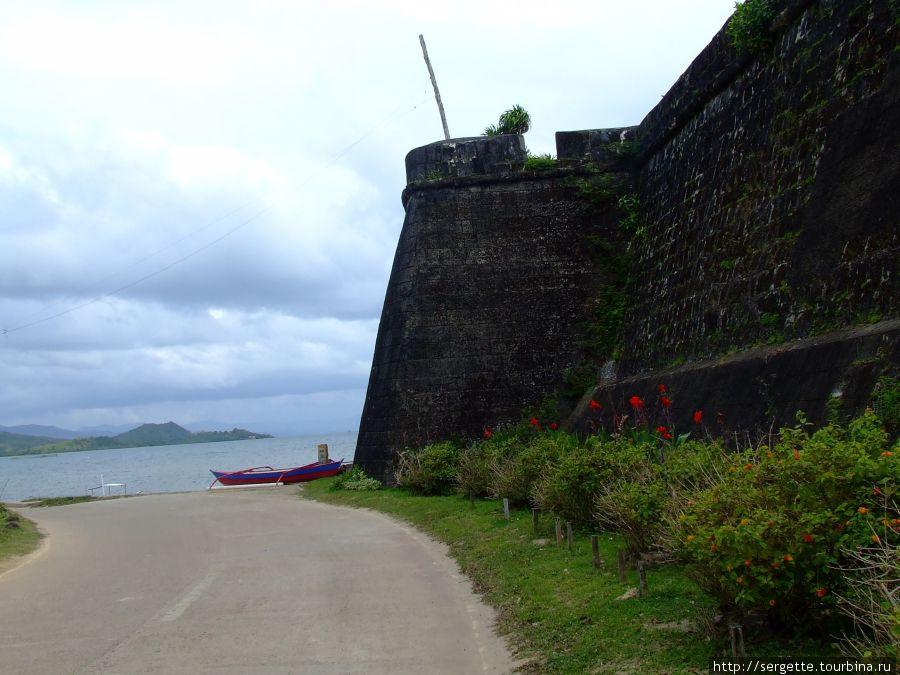 Стена крепости