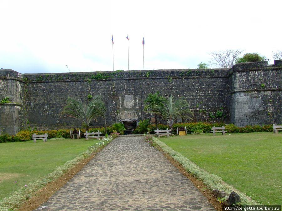 Тыльная сторона форта