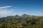 Вот весь участок — высшая точка — гора Батулао