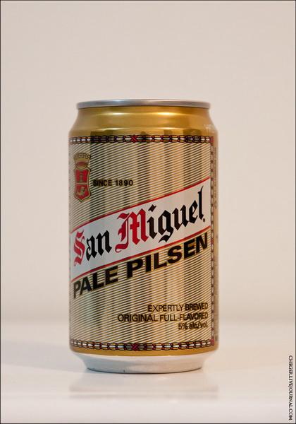 San Miguel Pale Pilsner Тип: pale pilsner Крепость: 5 % Стоимость: 28 песо Комментарий: самое популярное пиво в кафе и ресторанах. На вкус довольно ничего, но даже до нашего пива ему далековато…. В соотношении цена-качество лучшее тут. Рейтинг: 7