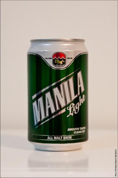 Manila Light Тип: All Malt Крепость: 5 % Стоимость: 29 песо Комментарий: хрень, а не пиво, вода, и на цвет и на вкус. Сладковатое.  Перегазировано Рейтинг: 3