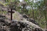 Тут проходили бои во Вторую Мировую, поэтому тут много крестов